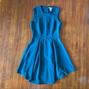 H&M Fit&Flare Emerald Green Cocktail Dress